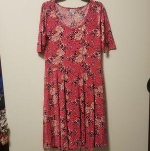 NWOT LulaRoe Nicole dress